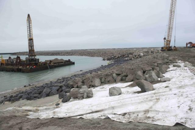 Erosion control - Rock armour - France